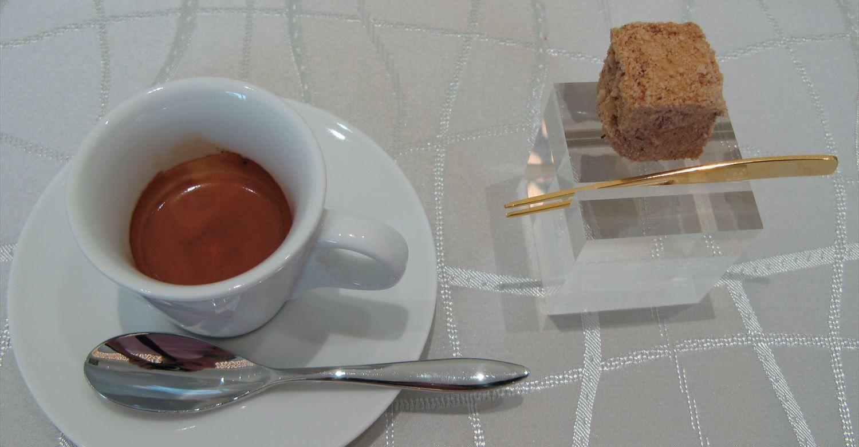 エスプレッソとカフェインについて