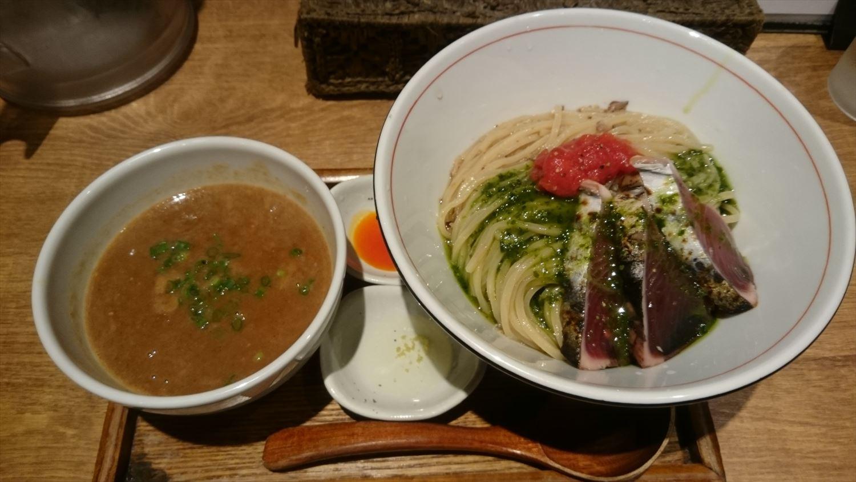 鰯白湯つけ麺IMPACT