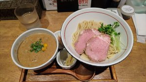 鯖のどろつけ麺