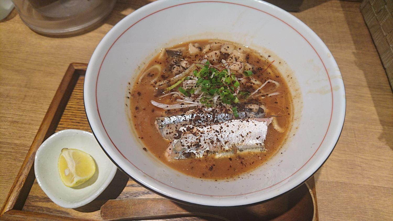 太刀魚白湯ラーメン