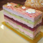 ラヴィルリエの桜のアルカ(Arukas)が春満開のケーキでした 扇町/ケーキ