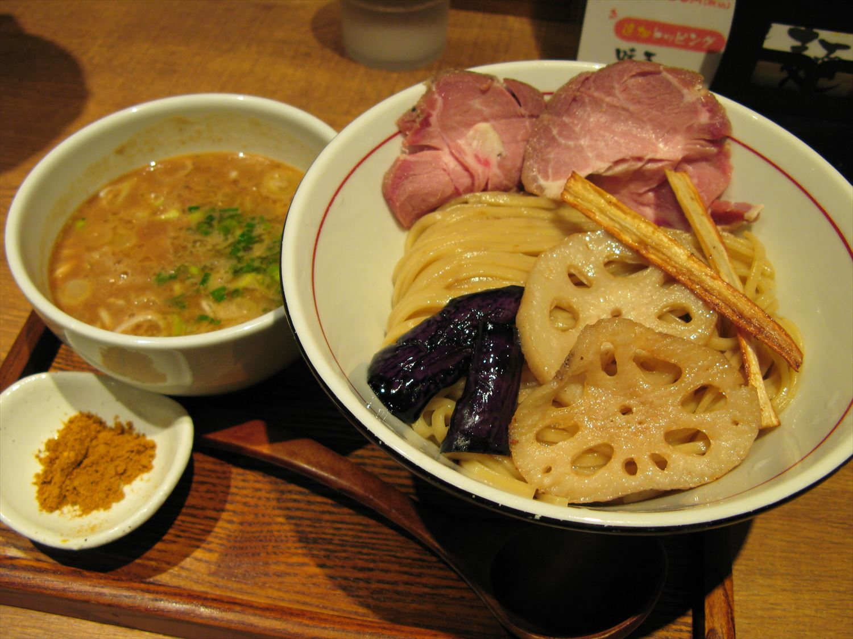 鰯白湯つけ麺