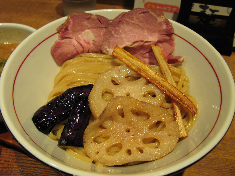 鰯白湯つけ麺 麺