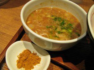 鰯白湯つけ麺 スープ
