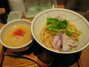 鰤白湯つけ麺