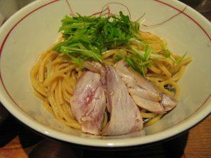 鰤白湯つけ麺 麺