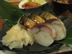 とろ鯖寿司
