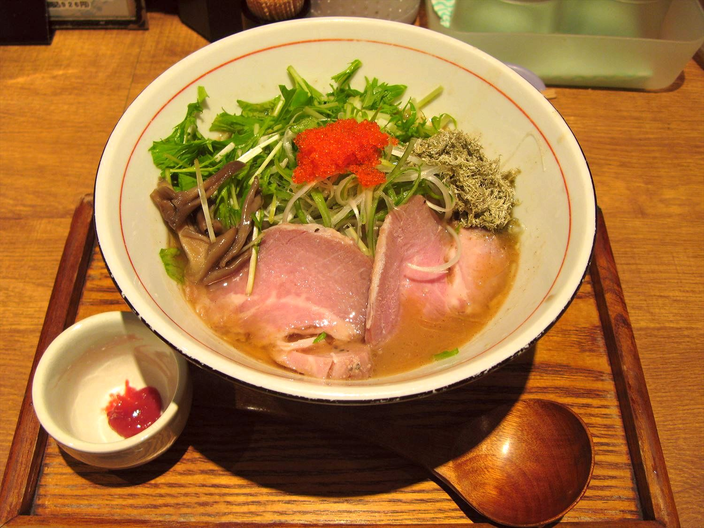 飛魚(あご)白湯ラーメン