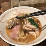 秋刀魚醤油そば